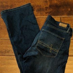 Denizen Tall Curvy Skinny Boot Cut jeans EUC